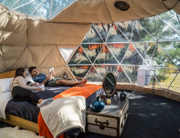 Glamping is the ultimate way to unwind and relax